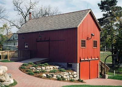 Nankin Mills Historic Barn Restoration