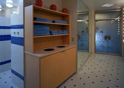 Varsity Women's Basketball Locker Room 2