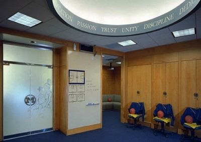 Varsity Women's Basketball Locker Room