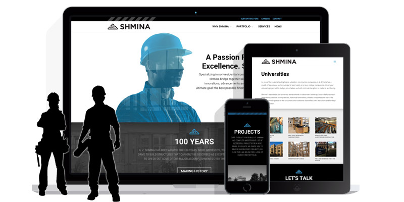New Website Presence at A.Z. Shmina