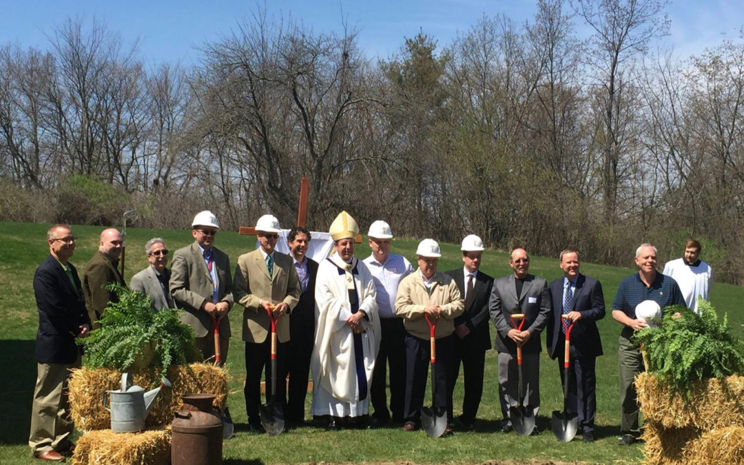 Our Lady of Good Counsel Gymnasium Project Ground Breaking